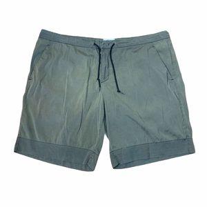 Prada Olive Lined Swim Trunk Shorts